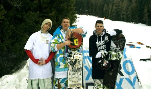Marko Dukić, prvak Hrvatske u snowboardu