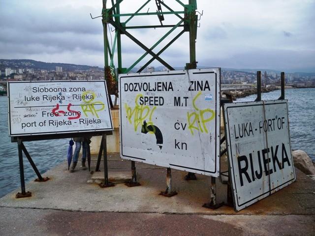 Šokantan ulazak u najveću hrvatsku luku