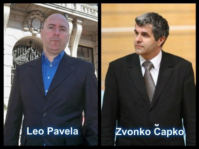 Bivši kandidati za gradonačelnika Rijeke, Leo Pavela i Zvonko Čapko, čestitaju Obersnelu