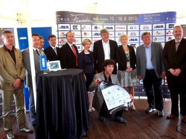 Sponzori i pokrovitelji 14. Fiumanke potpisali zajedničko jedro podrške