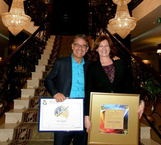 Gari Cappelli dobitnik je turističke nagrade – Povelja FEST 2013