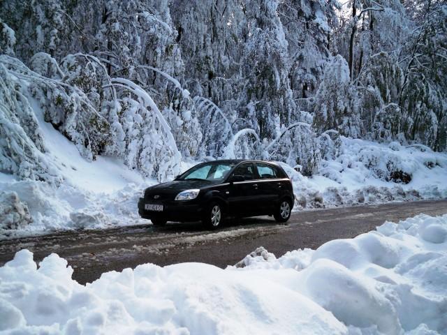 Snijeg zabijelio Hrvatsku