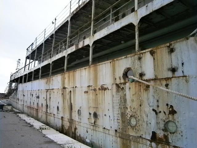 PREVARA: Brod Galeb se oteo kontroli