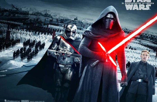 Star Wars pretpremijerni kostim party
