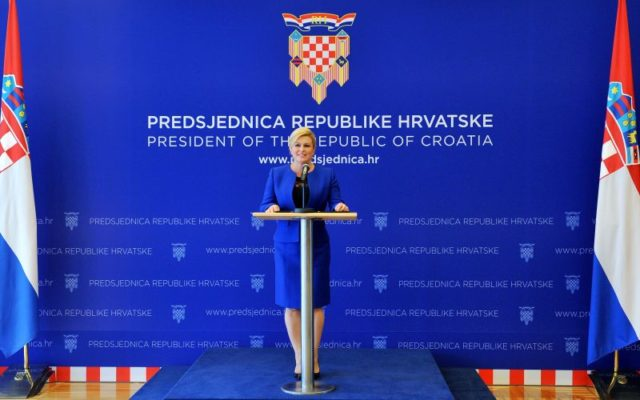 Grabar-Kitarović podnijela zahtjev za Uredom bivšeg predsjednika
