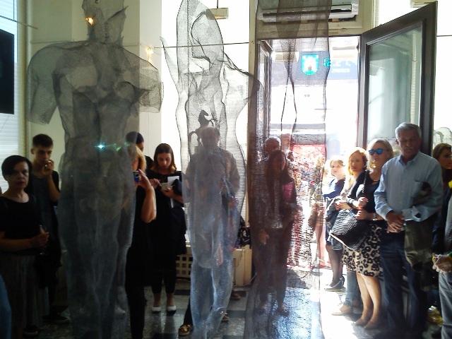 Otvorena izložba Sanje Sašo u Galeriji Mala u Zagrebu