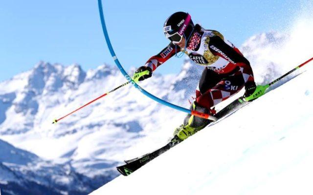 Liensberger uzela zlato u slalomu ispred Vlhove i Shiffrin, Popović 21.