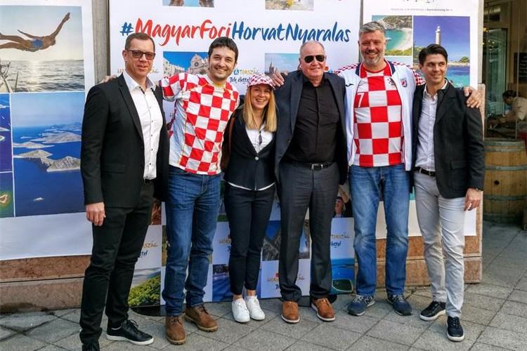 HTZ: promocija Hrvatske i hrvatskog turizma uoči nogometne utakmice u srcu Budimpešte