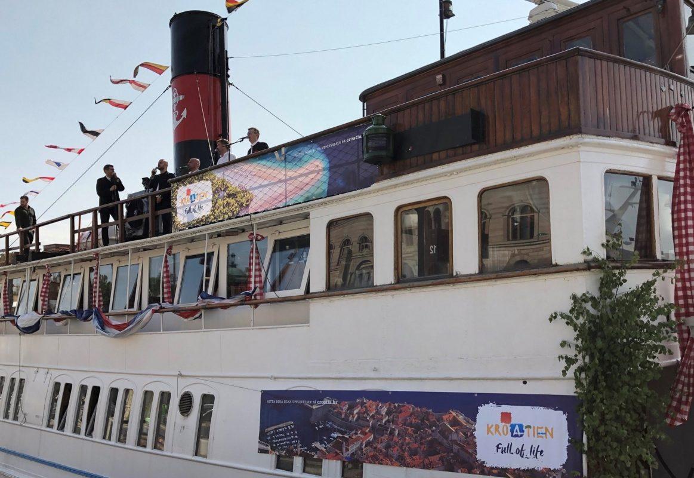 Hrvatski dan u Stockholmu na turističkom brodu