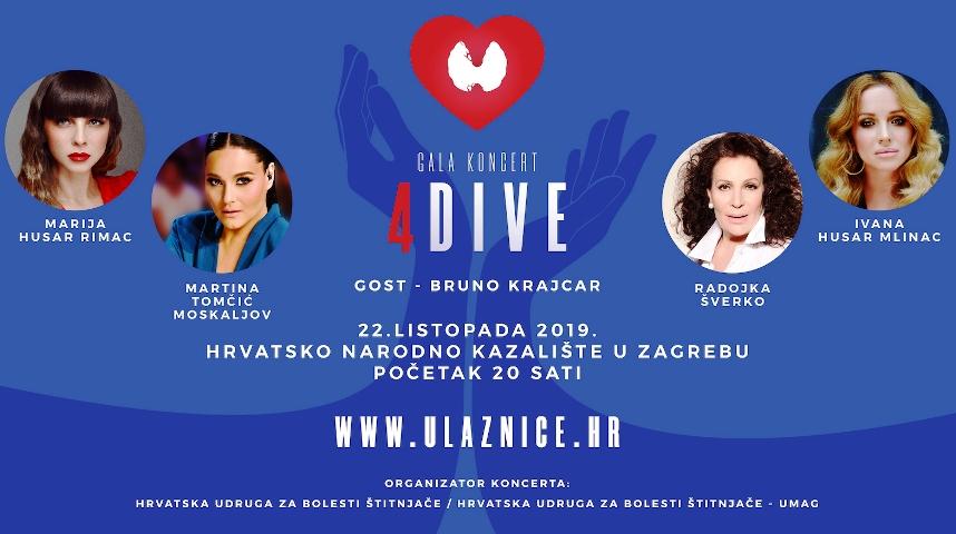 Sve je spremno za humanitarni koncertni spektakl u Hrvatskom narodnom kazalištu u Zagrebu