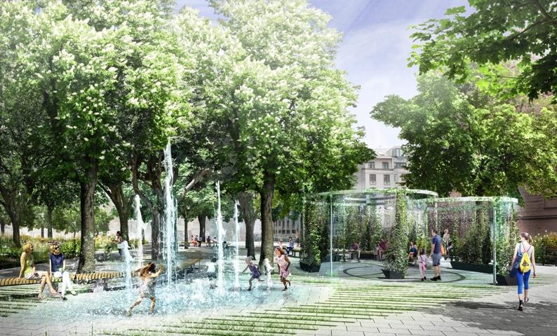 Beč dobiva prvi park koji hladi