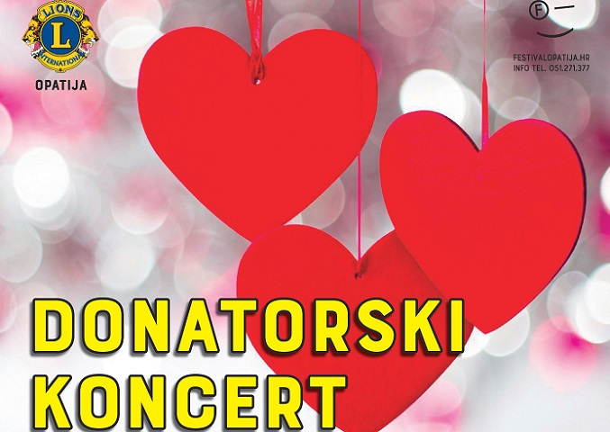 Donatorski koncert Lions Cluba Opatija i Festivala Opatija, 11.1., Opatija