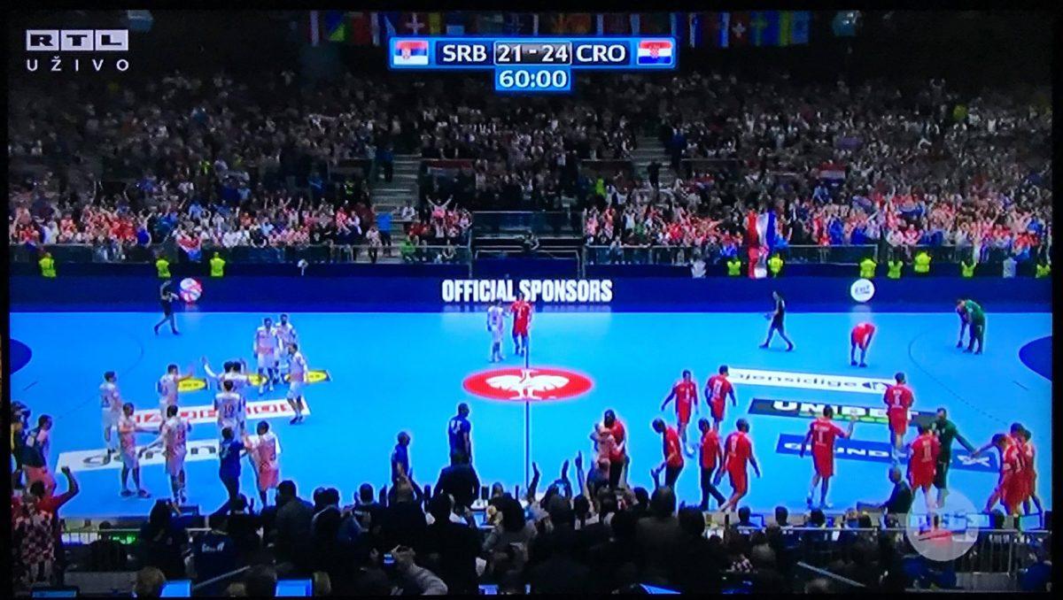 RUKOMET EP : Hrvatska porazila Srbiju