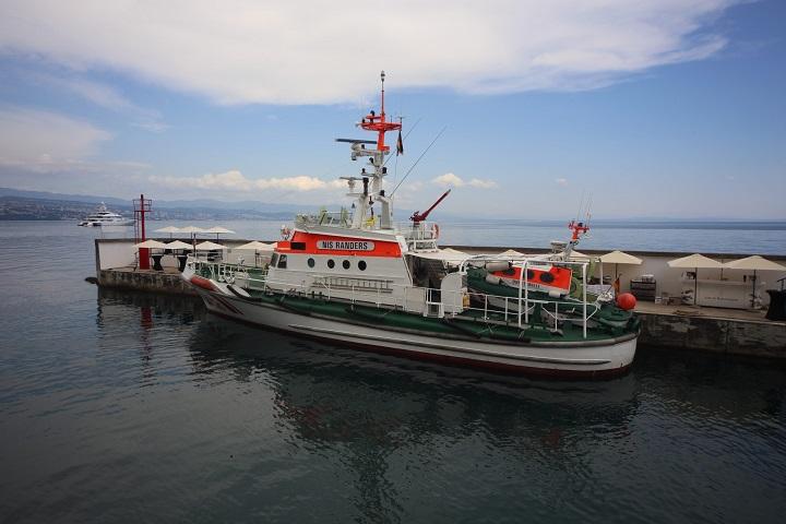 """U Opatiji predstavljen pomorski spasilački brod """"Nis Randers"""""""