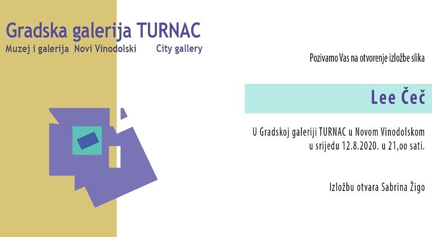 Izložba Lee Čeč u Galeriji Turnac u Novom Vinodolskom