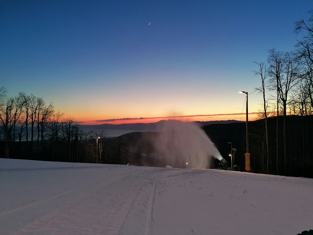Nastavak sezone skijanja na Platku
