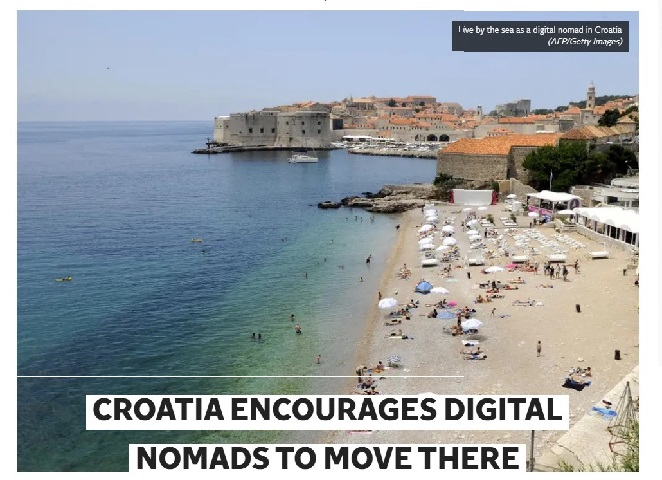Hrvatska u britanskim medijima kao atraktivna destinacija za digitalne nomade