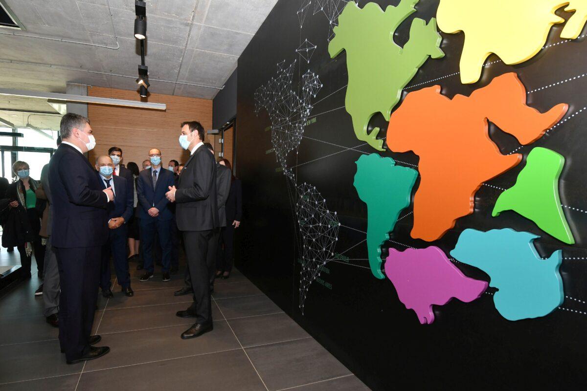 Predsjednik Milanović posjetio tvrtku Infobip u Vodnjanu