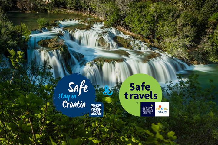 NP Krka dobio oznaku sigurnosti Safe stay in Croatia