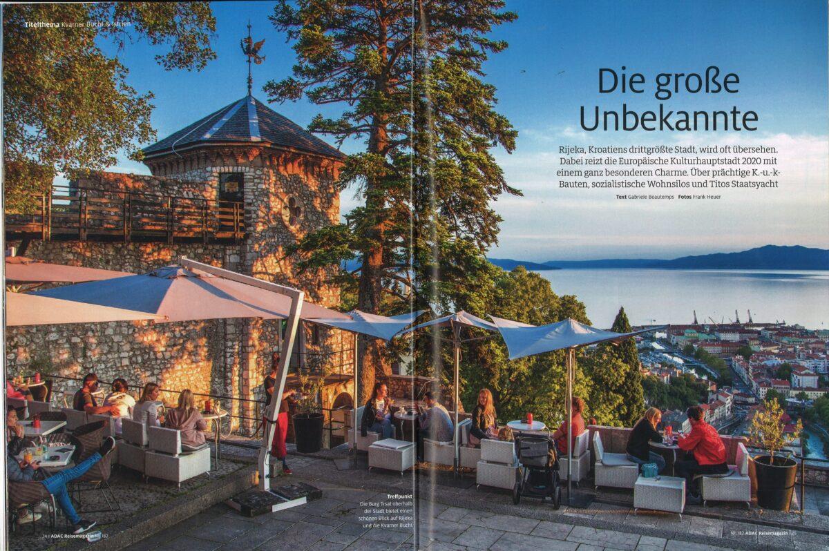 Najnovije izdanje poznatog njemačkog ADAC Reisemagazina posvećeno Kvarneru i Istri