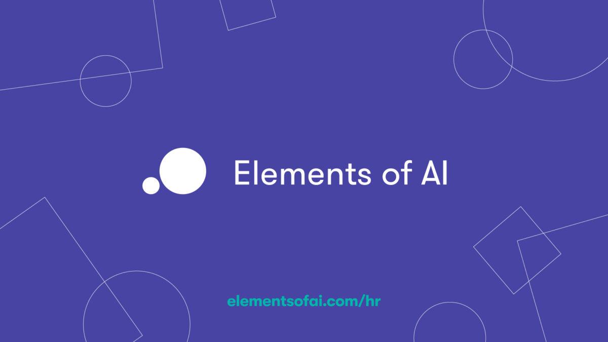 Ekonomski fakultet u Zagrebu podržava popularni online tečaj Elements of AI