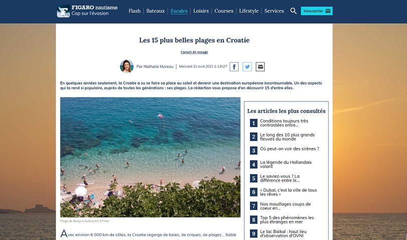 Hrvatska Francuzima jedna od najpoželjnijih ljetnih turističkih destinacija