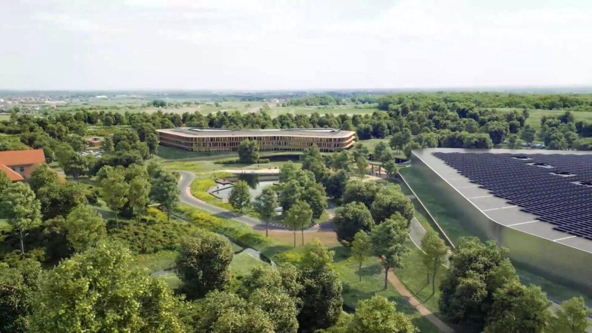 Rimac predstavio izgled svog budućeg kampusa
