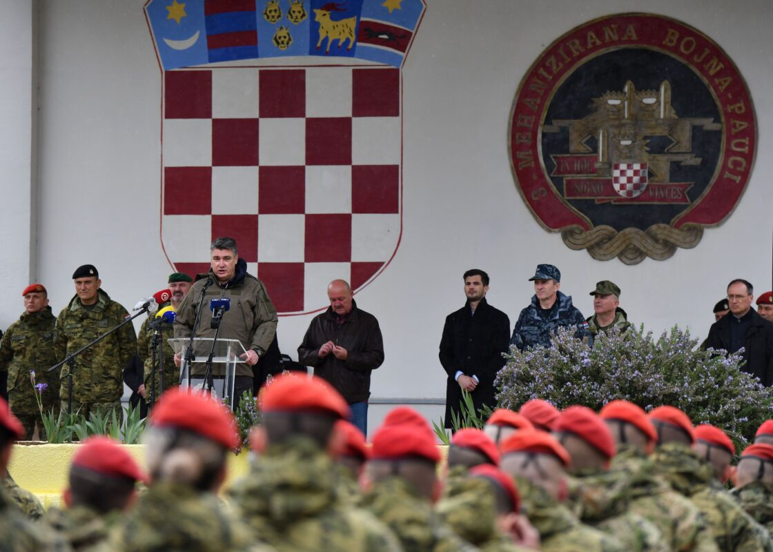 Predsjednik Milanović u Kninu