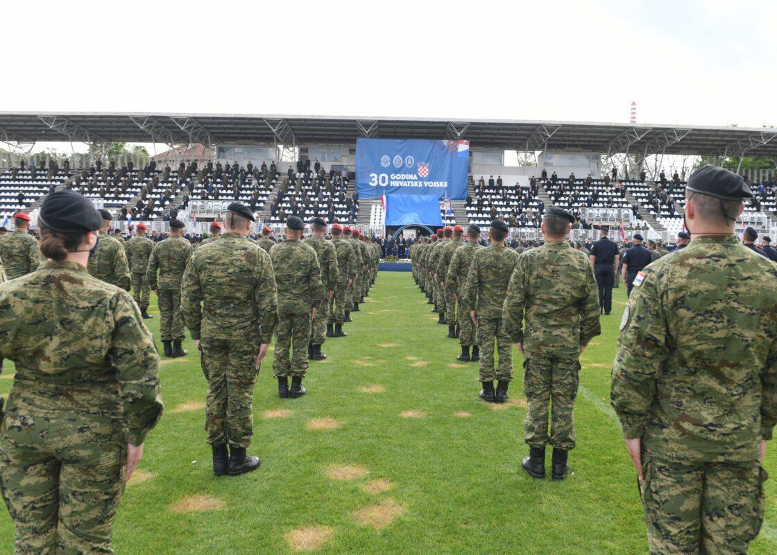 Hrvatska vojska vratila se u Kranjčevićevu