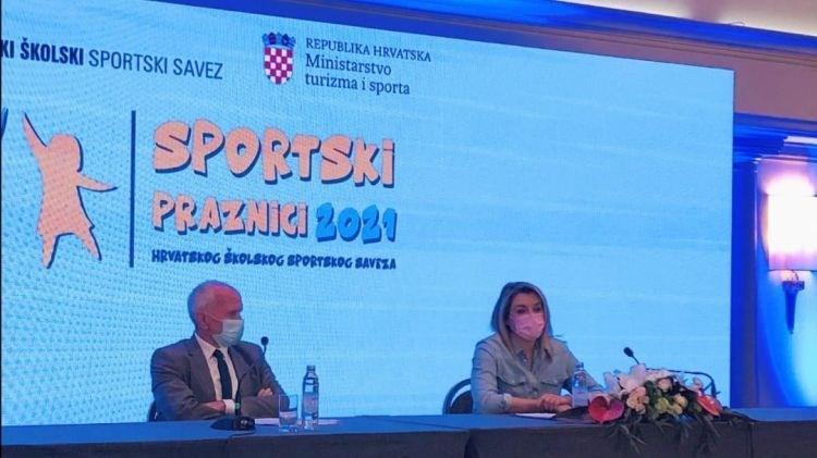 "Predstavljen sportsko-edukativni program ""Sportski praznici 2021."""