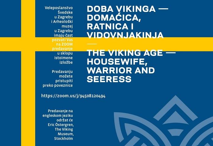"""Izložba """"Doba vikinga – domaćica, ratnica i vidovnjakinja"""""""