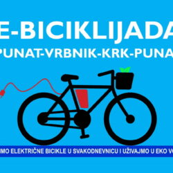 E-biciklijada Punat-Vrbnik-Krk-Punat