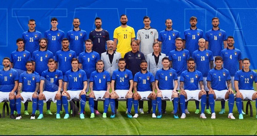 Azzurri do krova EUrope