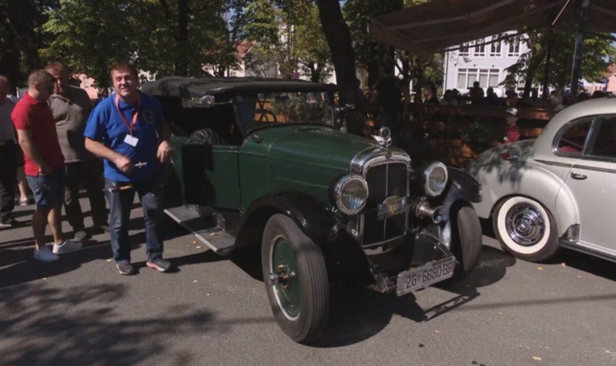 70-ak dobro očuvanih oldtimera stiglo u Jastrebarsko