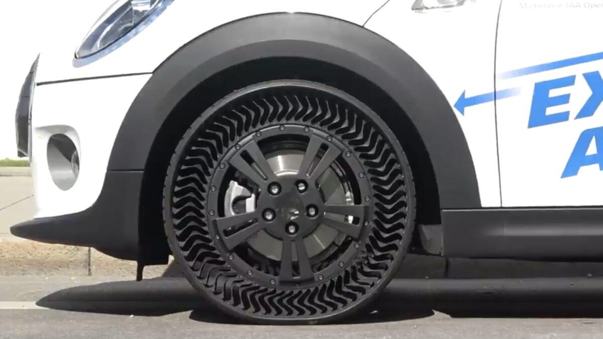 Automobilske gume bez zraka uskoro kreću u prodaju, pogledajte kakve su u vožnji