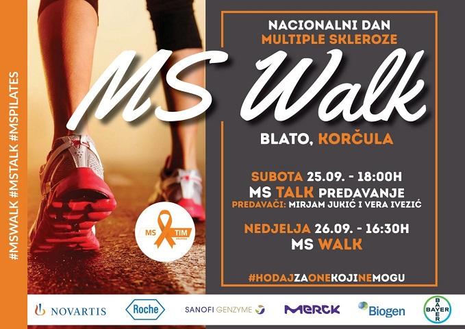 MS Walk 2021. u Blatu na Korčuli