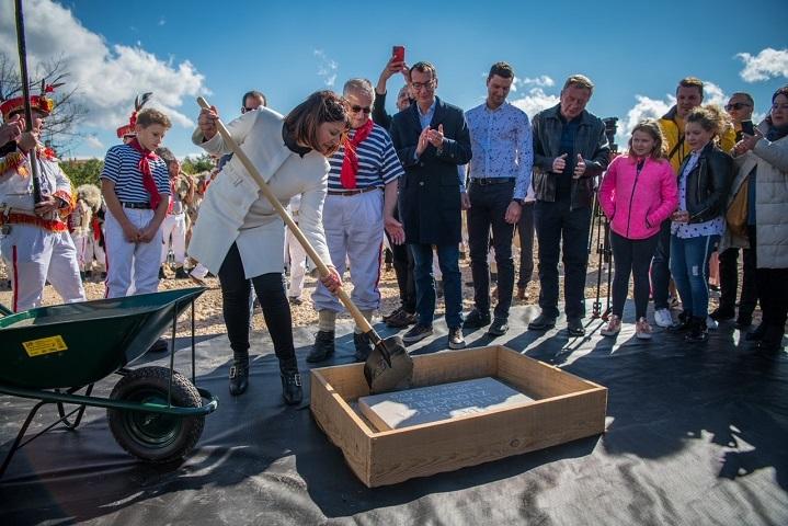 Svečanim polaganjem kamena temeljca obilježen početak izgradnje  Kuće halubajskega zvončara